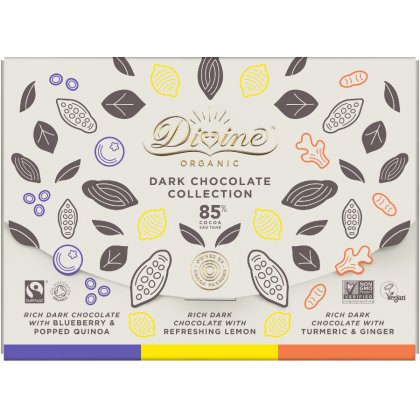 Organic 85 percent  Dark Chocolate Bar Set