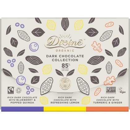 Organic 85 percent  Dark Chocolate Bar Set - 240g