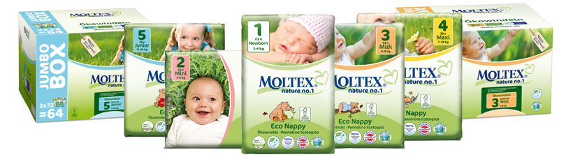 The Moltex Nappy Range